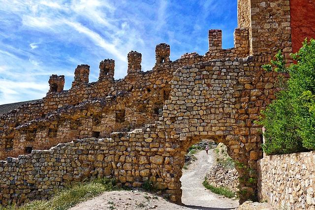 Albarracin rampart