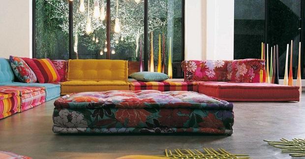 un canap modulaire mah jong l gant. Black Bedroom Furniture Sets. Home Design Ideas