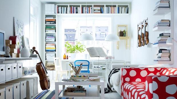 Idées de décoration pour salon de chez IKEA