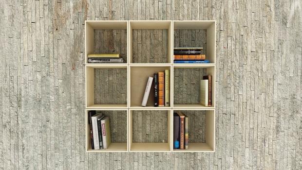 Une étagère à livres étonnante