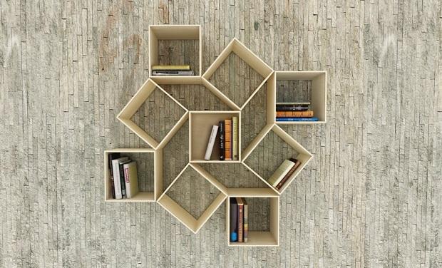étagère livres étonnantes (2)