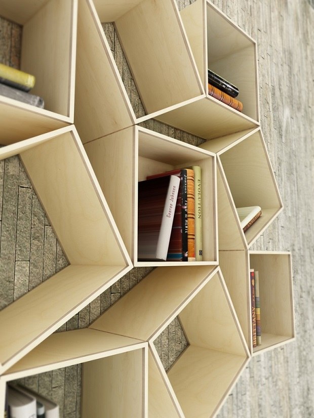 étagère livres étonnantes (4)