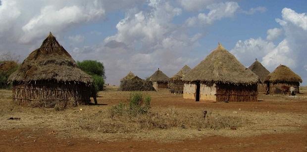 huttes éthiopie