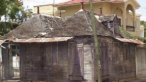 Vieille maison créole à Port-Louis, la capitale
