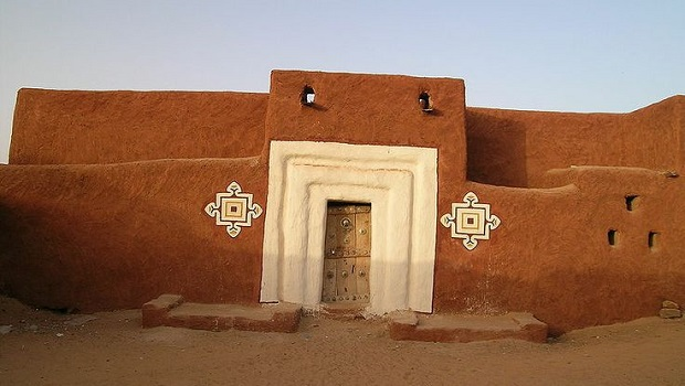 Les maisons traditionnelles de Oualata