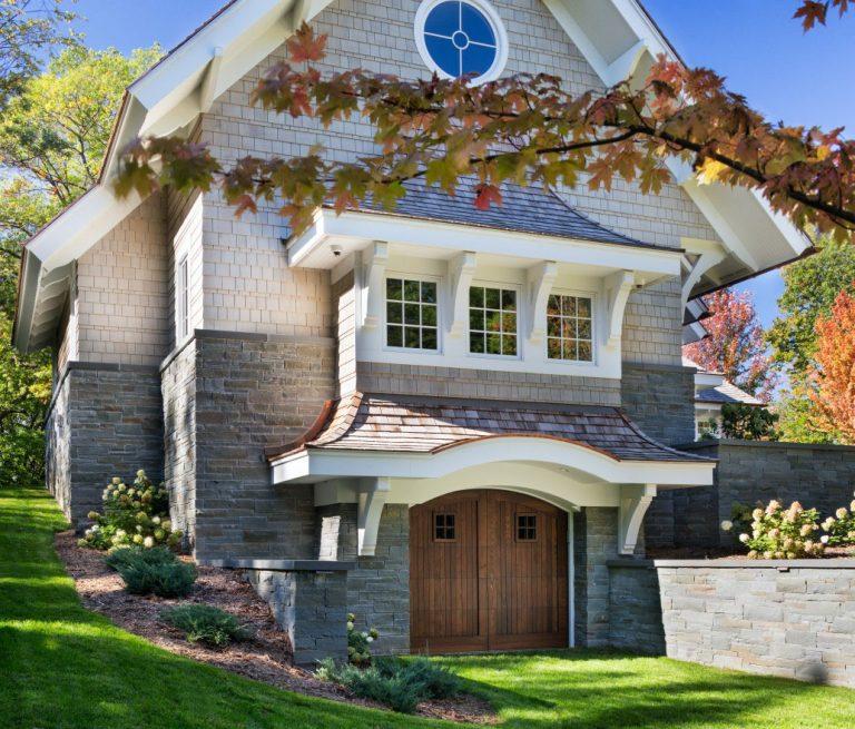 Une typique demeure am ricaine de style shingle for Maison style cottage