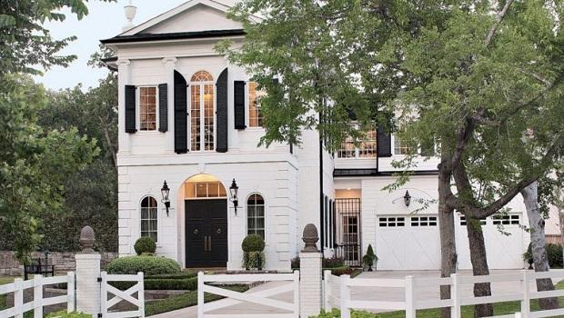 Une superbe résidence de style fédéral à Houston