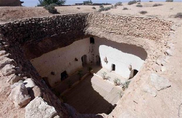 maison troglodyte libye