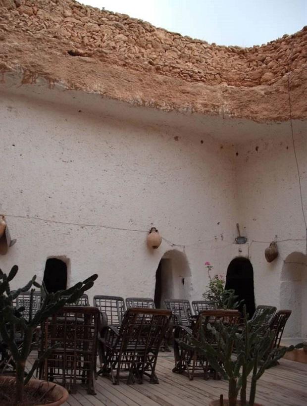 maison troglodyte libye 2