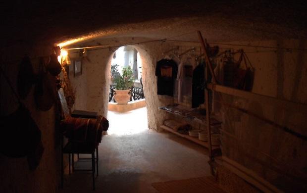 maison troglodyte libye 3