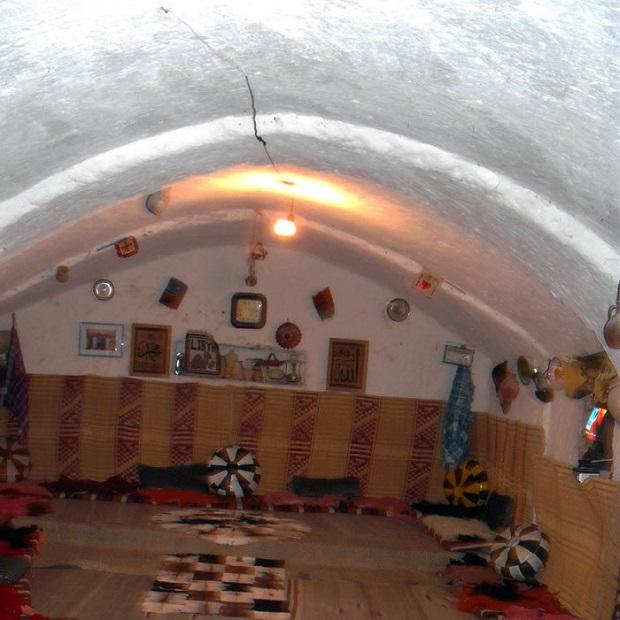 maison troglodyte libye 4