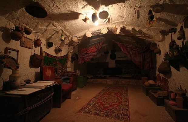 maison troglodyte libye 7