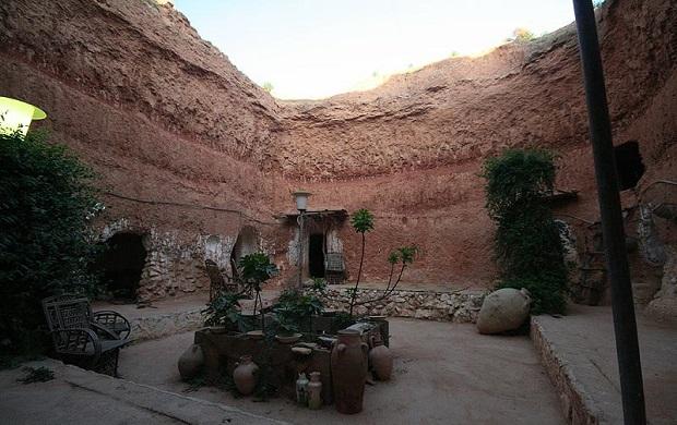 maison troglodyte libye 8