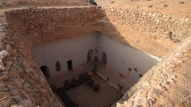 Les maisons troglodytes de Gharyan en Libye