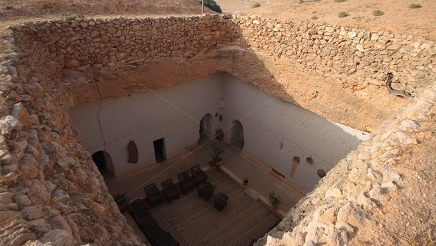 maisons troglodytes libye