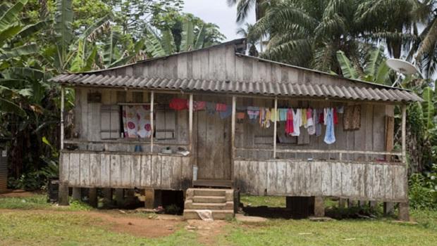 Les maisons de Sao Tomé-et-Principe