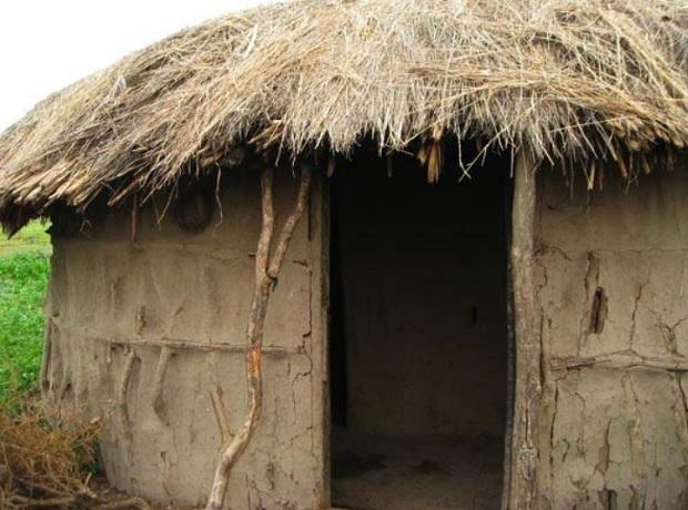 massai-hutte
