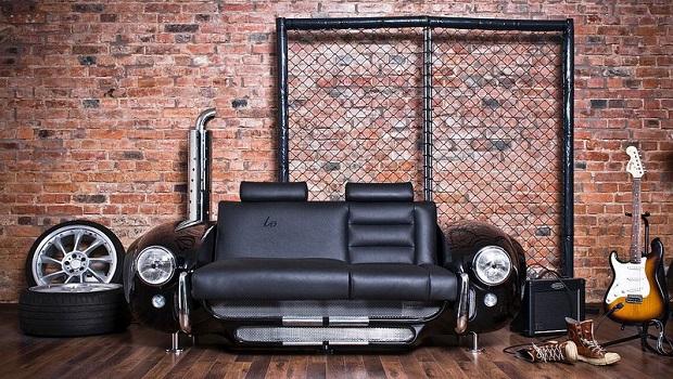 Du mobilier ultra-moderne inspiré de la voiture de sport anglo-américaine AC Cobra
