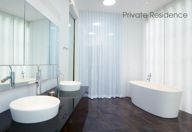 Les formes pures des salles de bains de luxe - Salle de bain hotel luxe ...