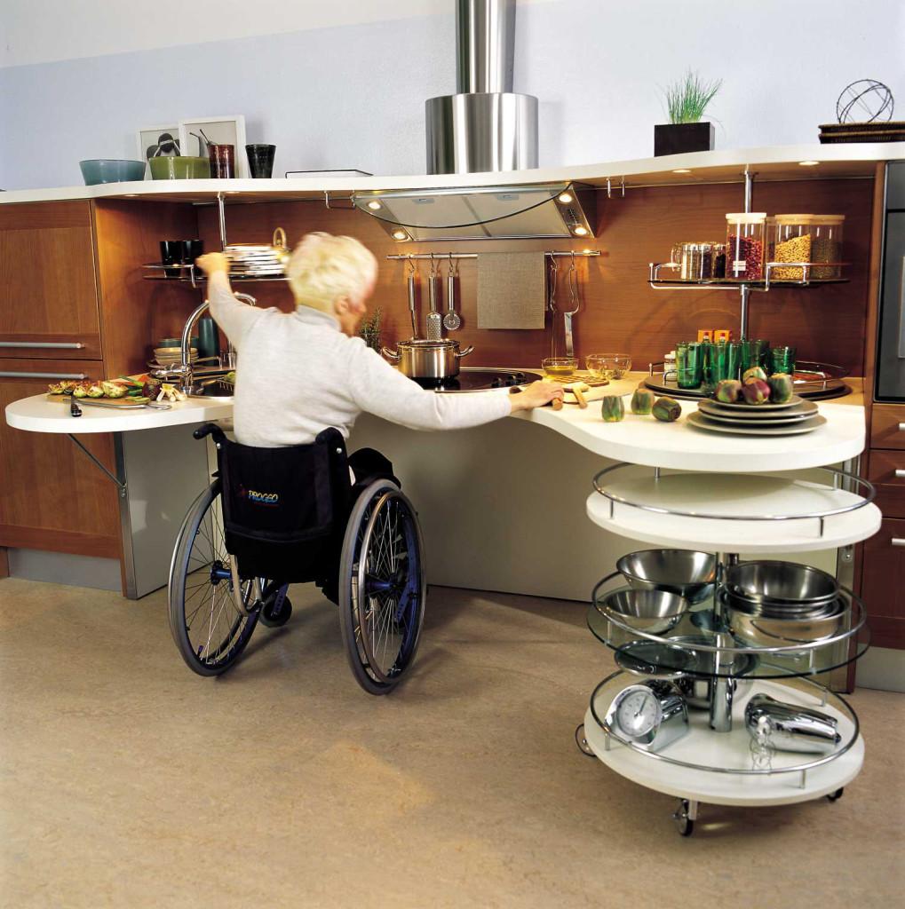 superbe cuisine personne fauteuil roulant (6)