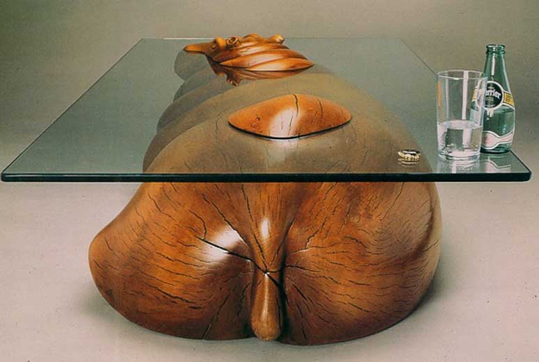 D'animaux Tables Design Basses Ces Créent Créatif Au Illusion Une KuTJ31clF