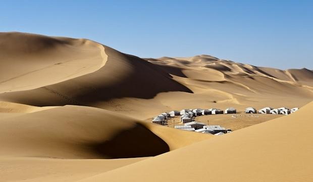 tente bedouin lybie 1