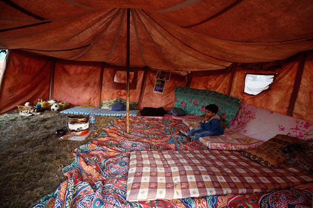 tente bedouin lybie 2