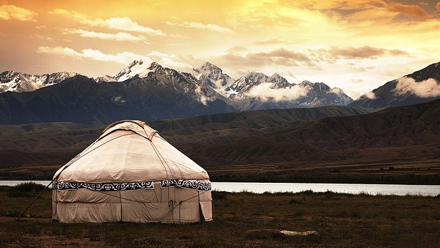 yourte Kazakh