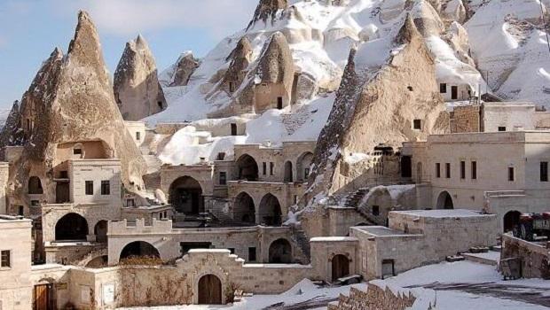 Les maisons troglodytes de Göreme en Turquie