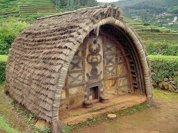 hutte peuple toda