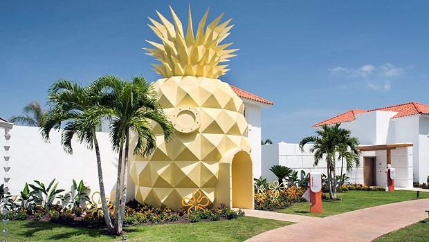 Un Hôtel Ananas pour les fans de Bob l'Éponge