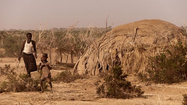 La hutte du peuple Afar