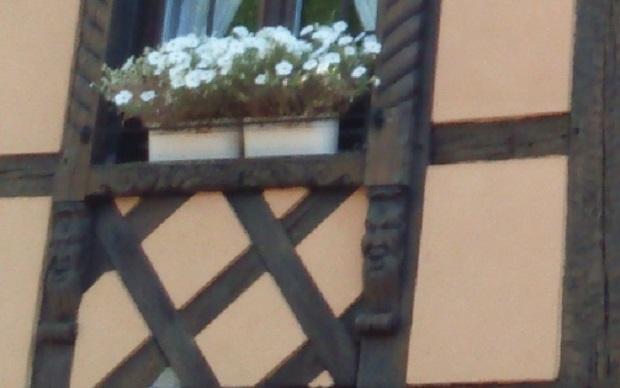 maison à colombage alsacienne