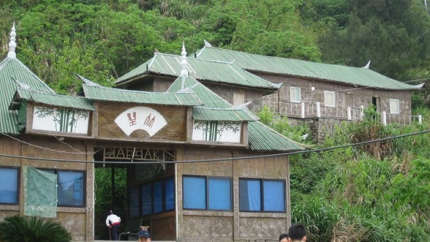 maison en bambou