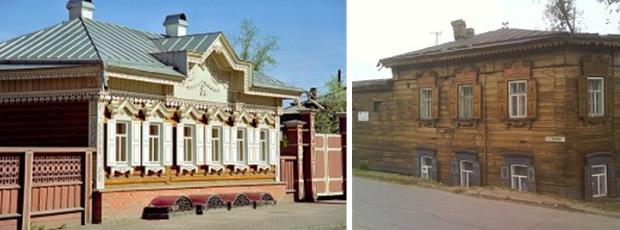 maison bois Irkoutsk