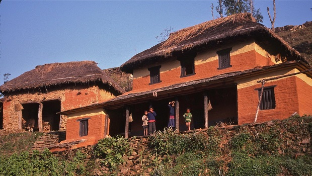 les maisons traditionnelles rurales au n pal