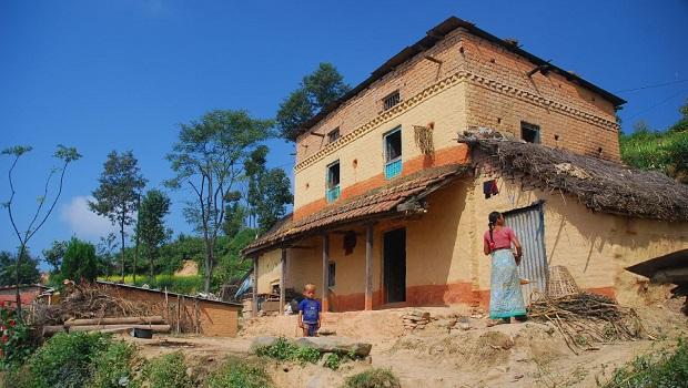 maison rurale népal
