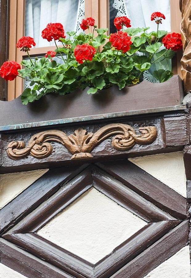 la maison à colombages alsacienne