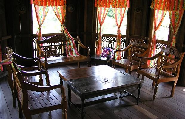 intérieur maison malaisie