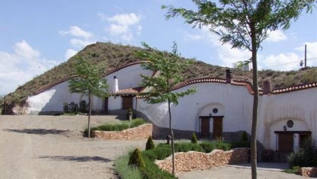 Les maisons troglodytes d'Andalousie