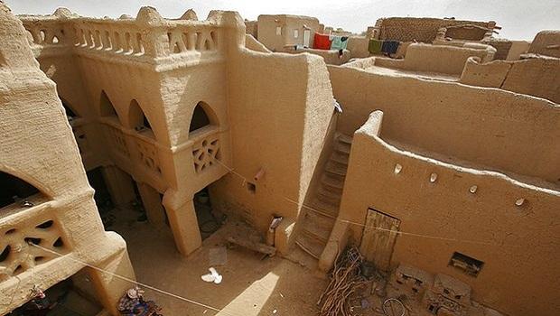 Les maisons de boue de Djenné