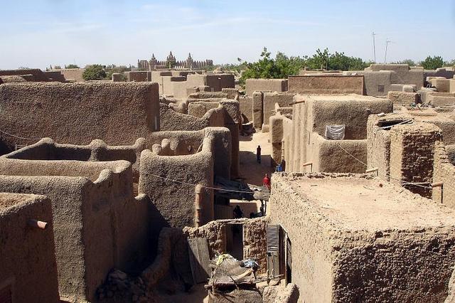 maisons boue djenné