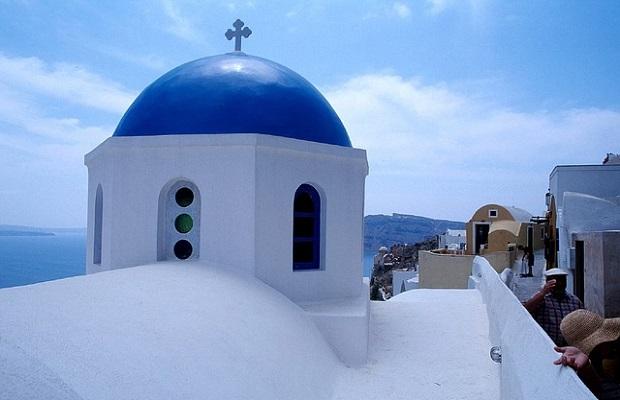 architecture santorin