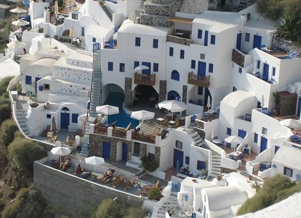 maisons cyclades
