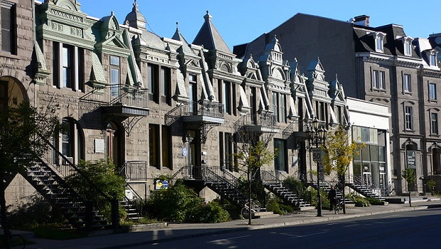 Maisons en rangée à Montréal