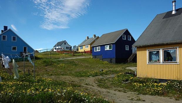 maisons au groenland
