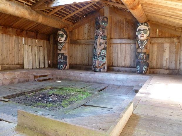 maison haida intérieur