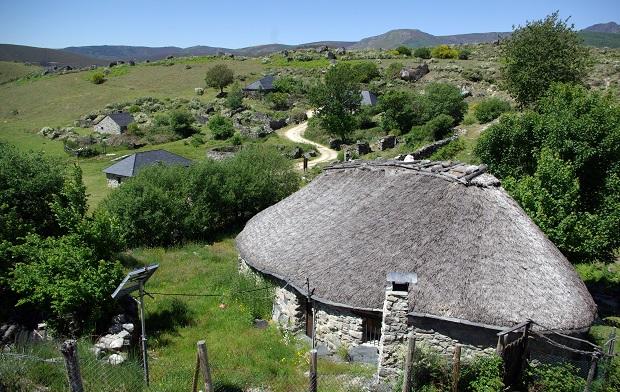 Casa de teito en Campo del Agua