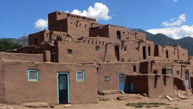 maisons pueblo de taos