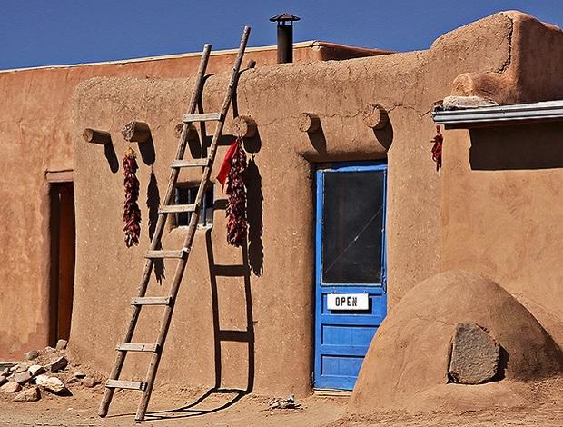 maison pueblo de taos